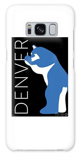 Denver Blue Bear/black Galaxy Case
