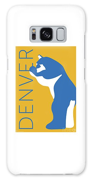 Denver Blue Bear/gold Galaxy Case