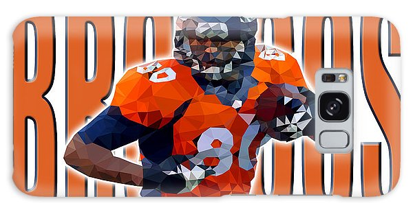 Denver Broncos Galaxy Case by Stephen Younts