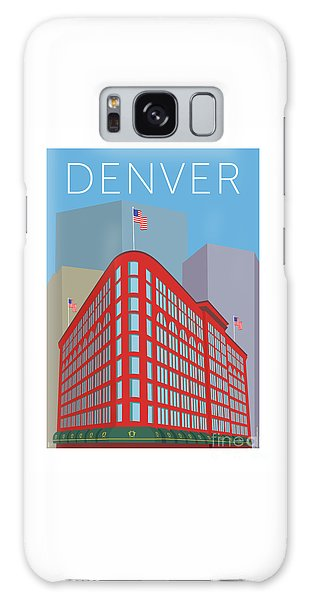 Denver Brown Palace/blue Galaxy Case