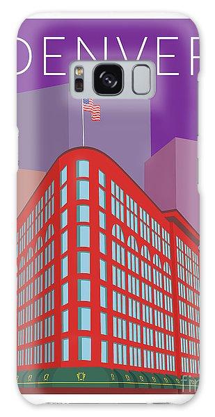 Denver Brown Palace/purple Galaxy Case