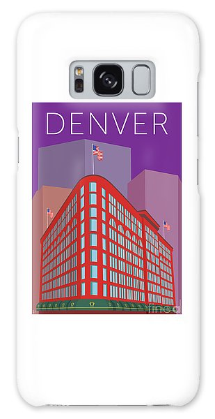 Denver Brown Palace/purple Galaxy Case