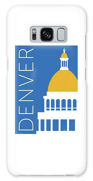 Denver Capitol/blue Galaxy Case