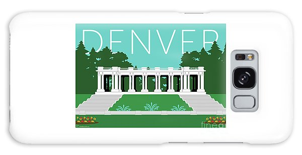 Denver Cheesman Park/lt Blue Galaxy Case