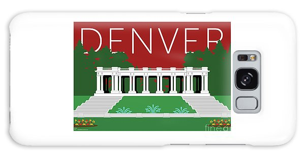 Denver Cheesman Park/maroon Galaxy Case