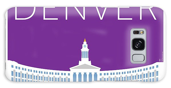 Denver City And County Bldg/purple Galaxy Case