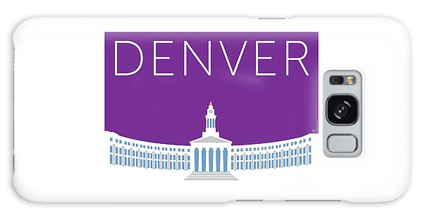Denver City And County Bldg/purple Galaxy Case