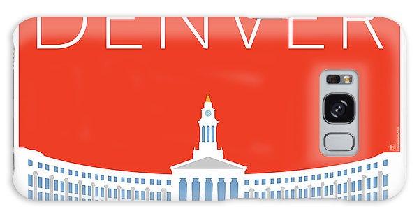 Denver City And County Bldg/orange Galaxy Case