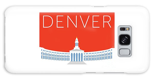 Denver City And County Bldg/orange Galaxy Case