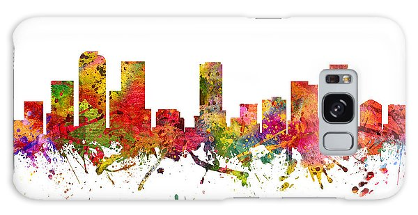 Colours Galaxy Case - Denver Cityscape 08 by Aged Pixel