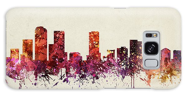 Colours Galaxy Case - Denver Cityscape 09 by Aged Pixel