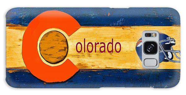 Denver Colorado Broncos 1 Galaxy Case by Steven Parker