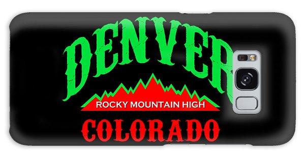 Denver Colorado Rocky Mountain Design Galaxy Case