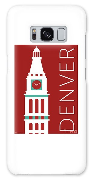 Denver D And F Tower/maroon Galaxy Case