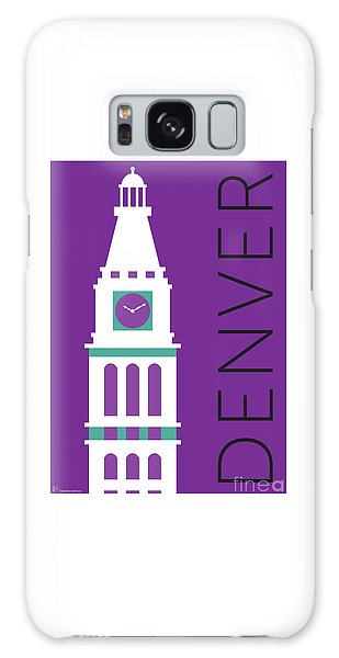 Denver D And F Tower/purple Galaxy Case