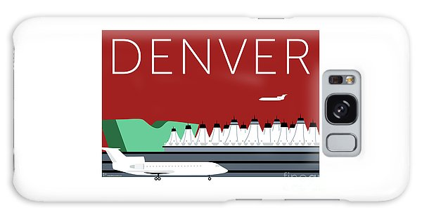 Denver Dia/maroon Galaxy Case