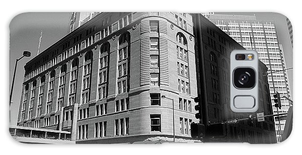 Denver Downtown Bw Galaxy Case by Frank Romeo