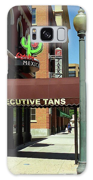 Denver Downtown Storefront Galaxy Case by Frank Romeo
