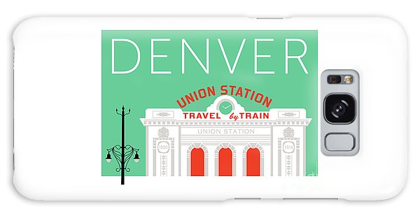 Denver Union Station/aqua Galaxy Case