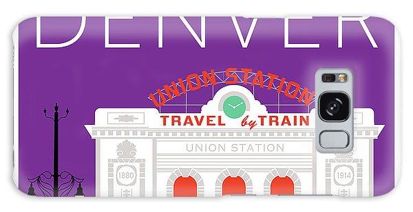 Denver Union Station/purple Galaxy Case