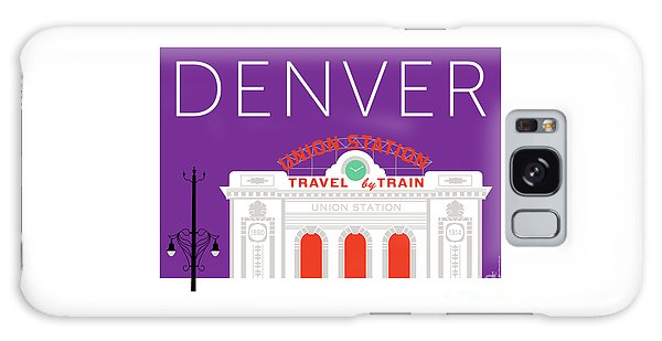 Denver Union Station/purple Galaxy Case