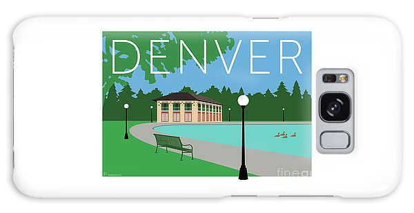 Denver Washington Park/blue Galaxy Case