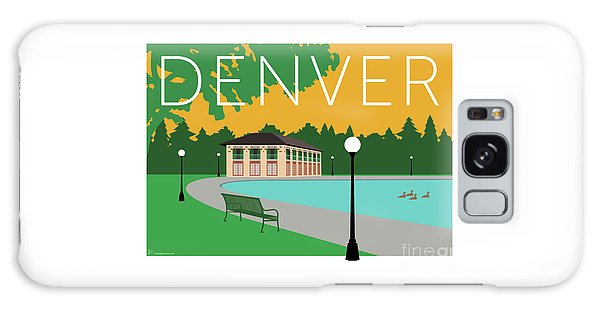 Denver Washington Park/gold Galaxy Case
