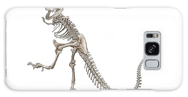 Denvers Dancing T Rex Galaxy Case