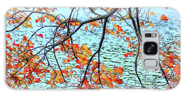Galaxy Case featuring the photograph der Oktober by Expressive Landscapes Fine Art Photography by Thom