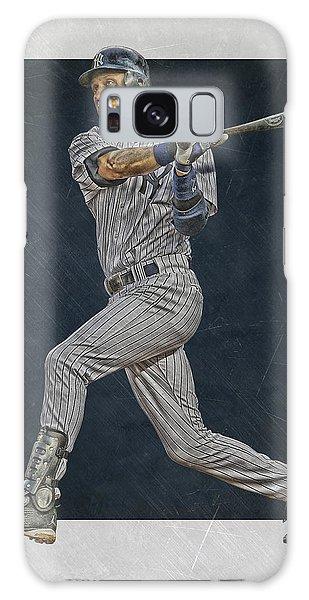 Derek Jeter Galaxy S8 Case - Derek Jeter New York Yankees Art 2 by Joe Hamilton
