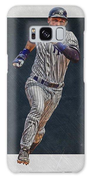 Derek Jeter Galaxy S8 Case - Derek Jeter New York Yankees Art 3 by Joe Hamilton