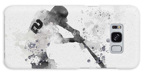 Derek Jeter Galaxy S8 Case - Derek Jeter by Rebecca Jenkins