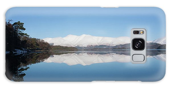 Derwentwater Winter Reflection Galaxy Case