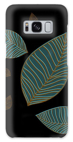 Descending Leaves Galaxy Case by Kandy Hurley