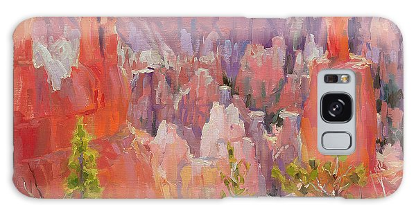 Galaxy Case featuring the painting Descent Into Bryce by Steve Henderson