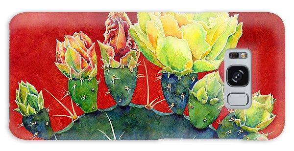 Bloom Galaxy Case - Desert Bloom 3 by Hailey E Herrera