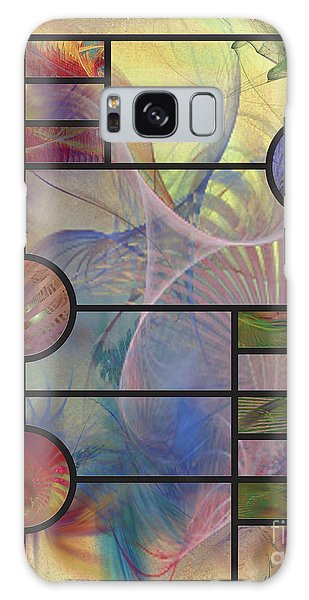 Desert Blossoms Galaxy Case