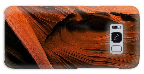 Contour Galaxy Case - Desert Carvings by Mike  Dawson