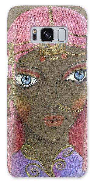 Desert Diva -- Whimsical Arabic Woman Galaxy Case