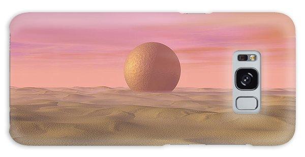 Desert Dream Of Geometric Proportions Galaxy Case