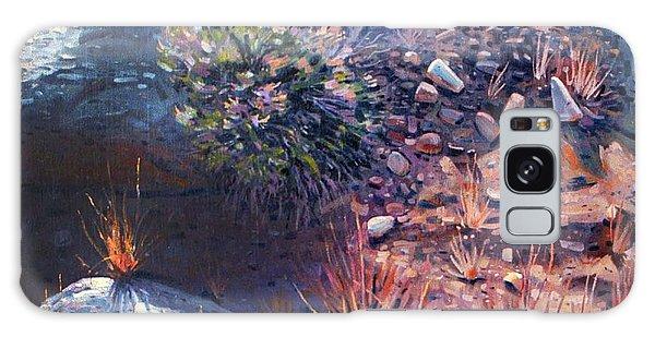 Desert Flora Galaxy Case - Desert Floor by Donald Maier