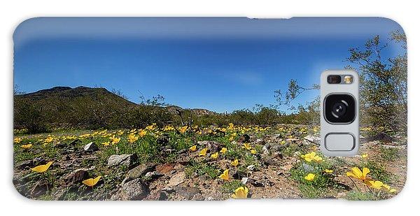 Desert Flowers In Spring Galaxy Case