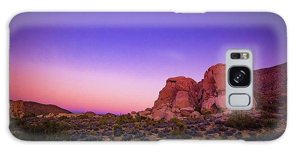 Desert Grape Rock Galaxy Case