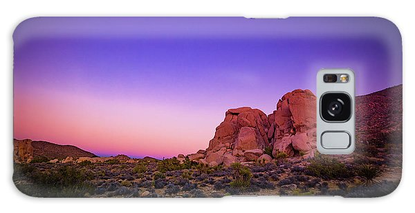 Desert Grape Rock Galaxy Case
