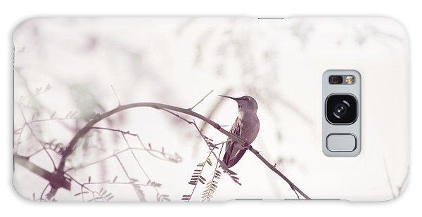 Desert Hummingbird II Galaxy Case by Carolina Liechtenstein