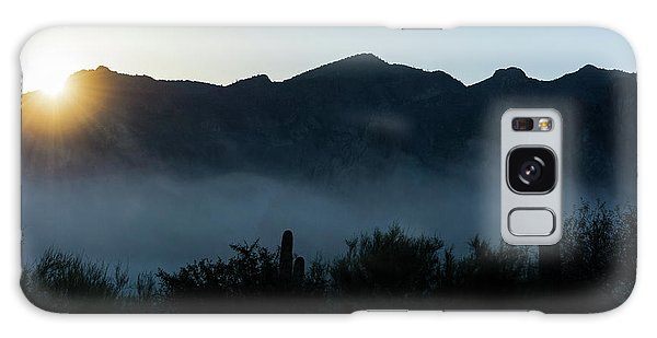 Desert Inversion Sunrise Galaxy Case