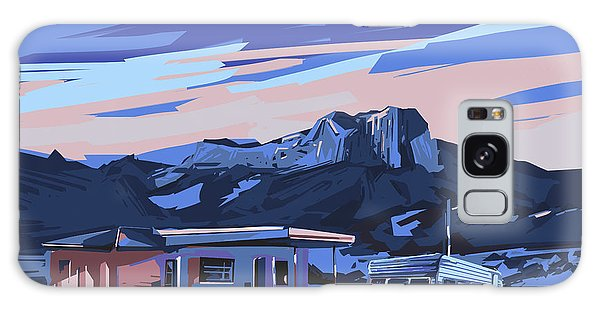 Desert Landscape 2 Galaxy Case by Bekim Art