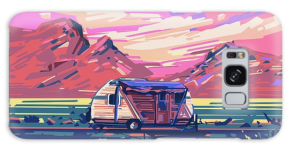 Desert Landscape Galaxy Case by Bekim Art