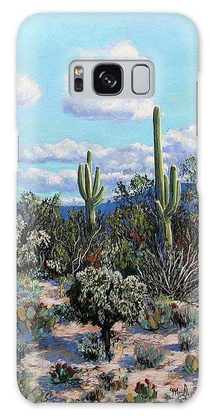 Desert Landscape Galaxy Case by M Diane Bonaparte