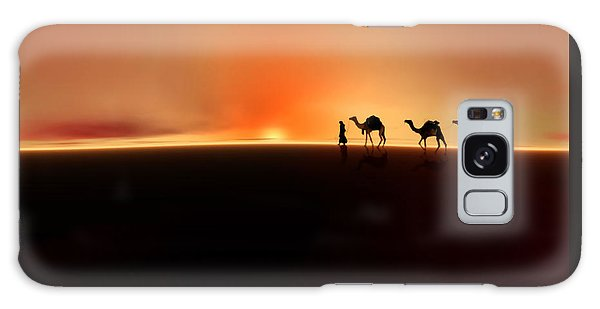 Desert Mirage Galaxy Case
